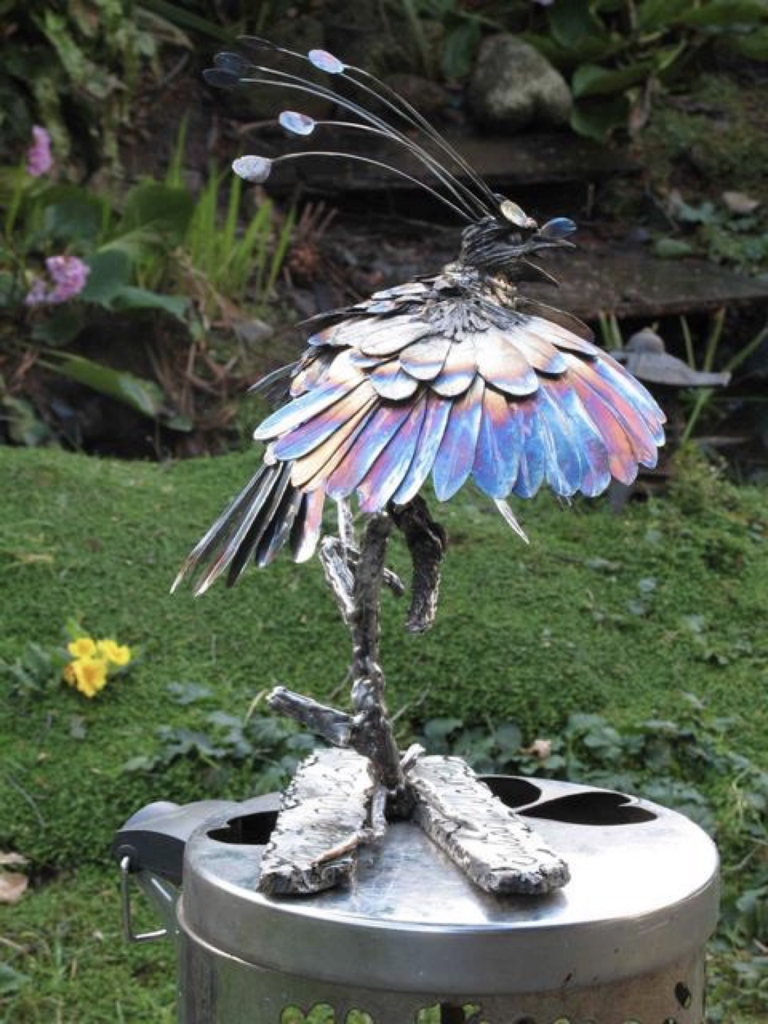 Bird of Paradise for Sir David Attenborough.